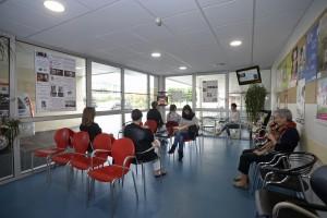 Entrée urgences clinique de l'Anjou, Angers