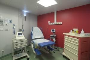 bloc accouchement 8 Clinique de l'Anjou, Angers